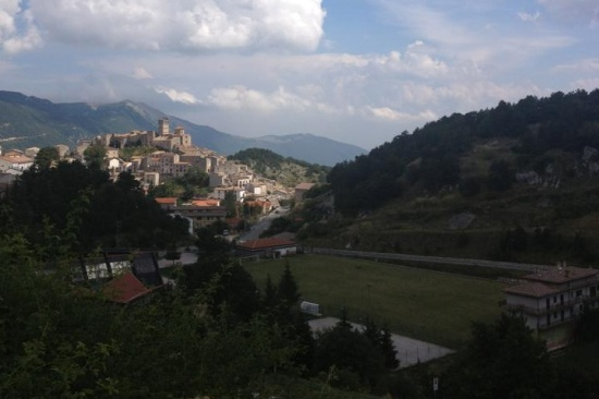 The hill towns of the Gran Sasso